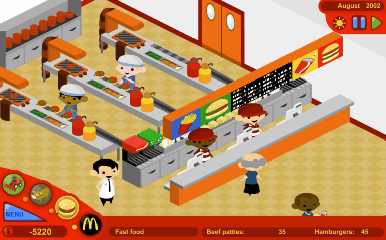 The McDonald's Videogame